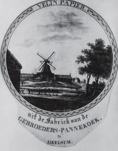 De windpapiermolen de Fortuyn