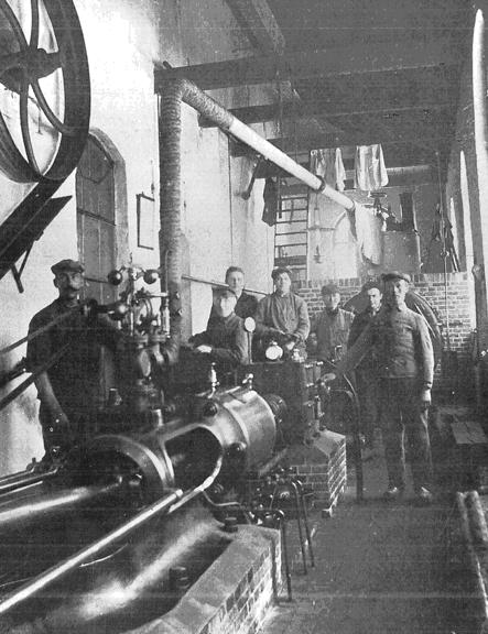 stoommachine voor een molen