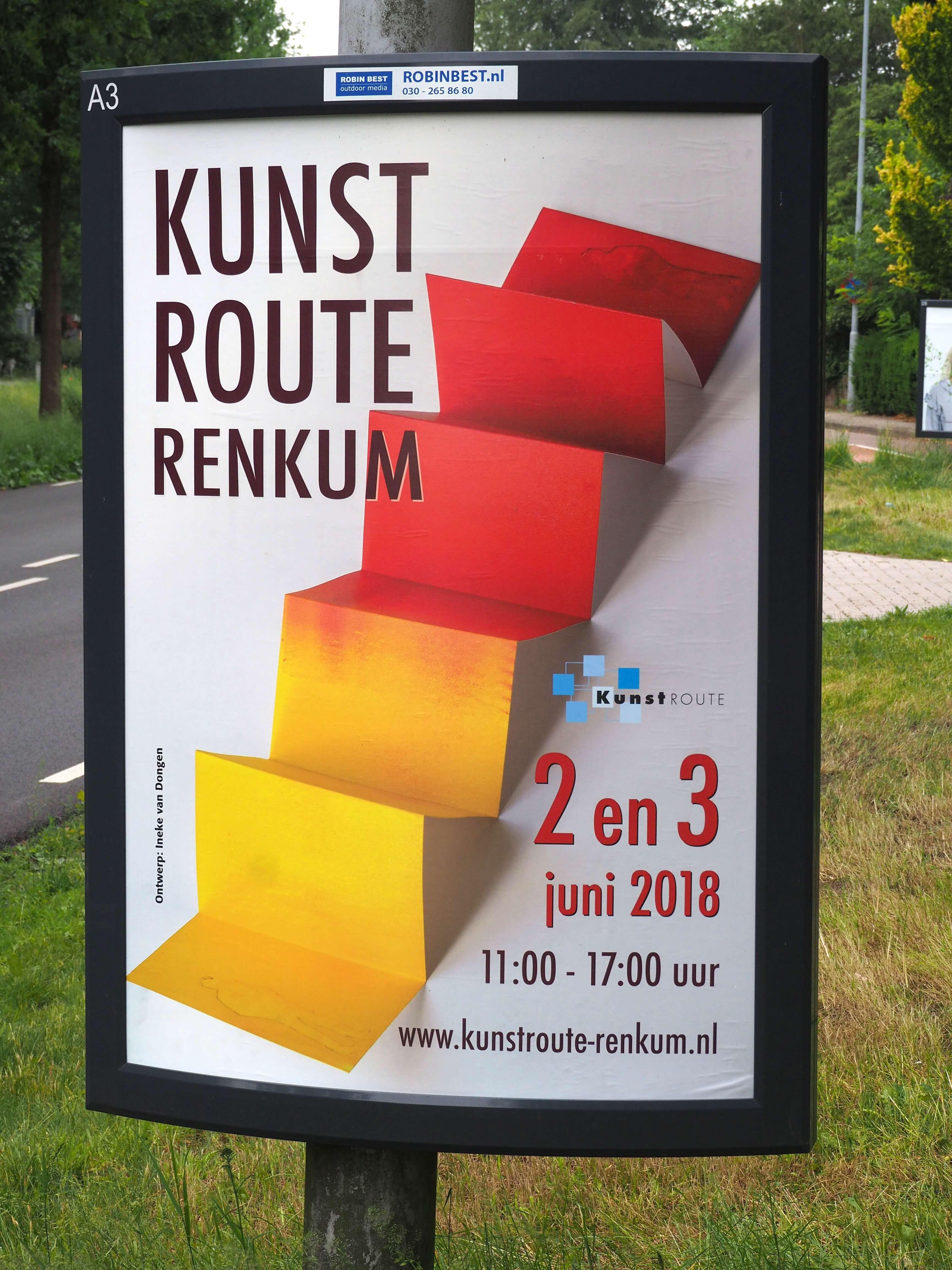 Kunstroute bij Schut papier